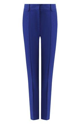 Женские льняные брюки LORO PIANA синего цвета, арт. FAL1221 | Фото 1