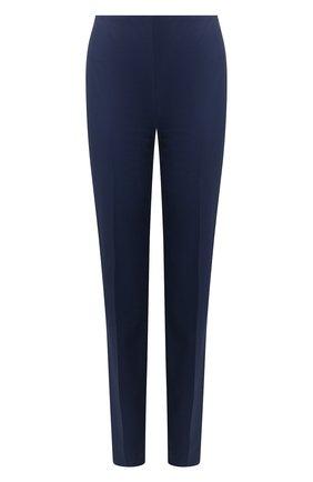 Женские укороченные брюки RALPH LAUREN синего цвета, арт. 290803714 | Фото 1