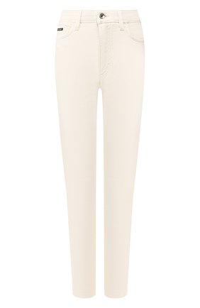 Женские джинсы DOLCE & GABBANA бежевого цвета, арт. FTAH6D/G8CH9 | Фото 1