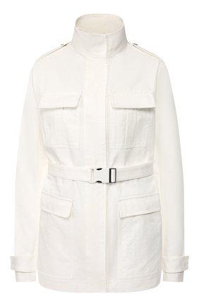 Женская хлопковая куртка OFF-WHITE белого цвета, арт. 0WEL003R20H360680100 | Фото 1
