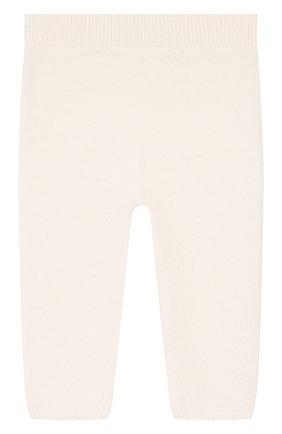 Детские кашемировые брюки DOLCE & GABBANA белого цвета, арт. L0EGC4/LK062 | Фото 1