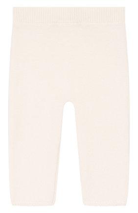 Детские кашемировые брюки DOLCE & GABBANA белого цвета, арт. L0EGC4/LK062 | Фото 2