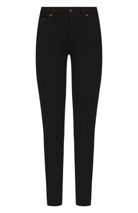 Женские джинсы SAINT LAURENT черного цвета, арт. 614478/Y0500 | Фото 1