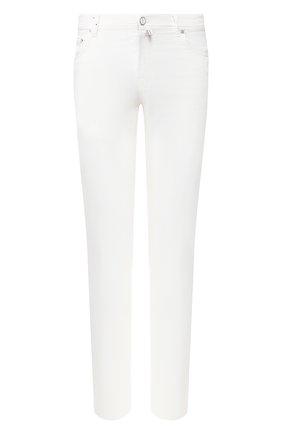 Мужской брюки KITON белого цвета, арт. UPNJSJ07S73 | Фото 1