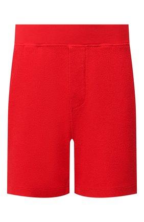 Мужские хлопковые шорты DSQUARED2 красного цвета, арт. S78MU0022/S25427 | Фото 1