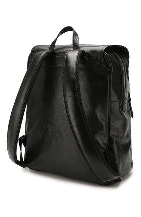 Мужской кожаные рюкзак GUCCI черного цвета, арт. 575823/1GZBX   Фото 3