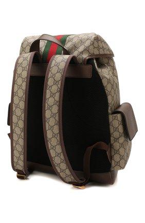 Мужской рюкзак ophidia gg GUCCI бежевого цвета, арт. 598140/HUHAT   Фото 3