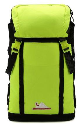 Мужской текстильный рюкзак OFF-WHITE светло-зеленого цвета, арт. 0MKN001R20E480016200 | Фото 1
