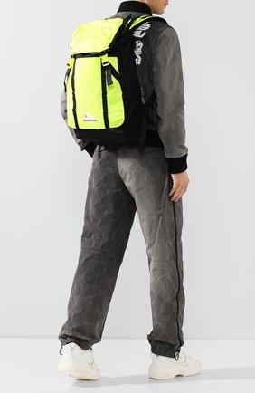 Мужской текстильный рюкзак OFF-WHITE светло-зеленого цвета, арт. 0MKN001R20E480016200 | Фото 2