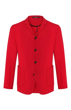 Мужской пиджак GIORGIO ARMANI красного цвета, арт. 0SGGG0FG/T00AB | Фото 1