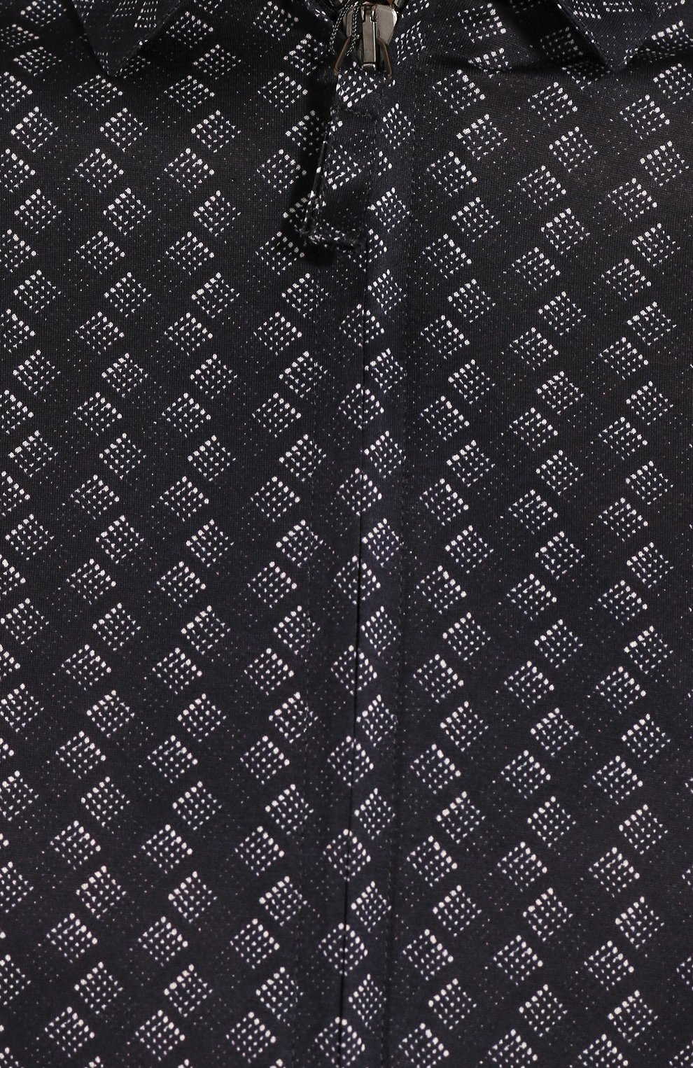 Мужская хлопковая рубашка GIORGIO ARMANI темно-синего цвета, арт. 8WGCCZ5H/JZ545 | Фото 5