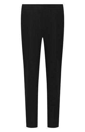 Мужской брюки из смеси шерсти и хлопка Z ZEGNA черного цвета, арт. 7ZF018/73N5C2 | Фото 1