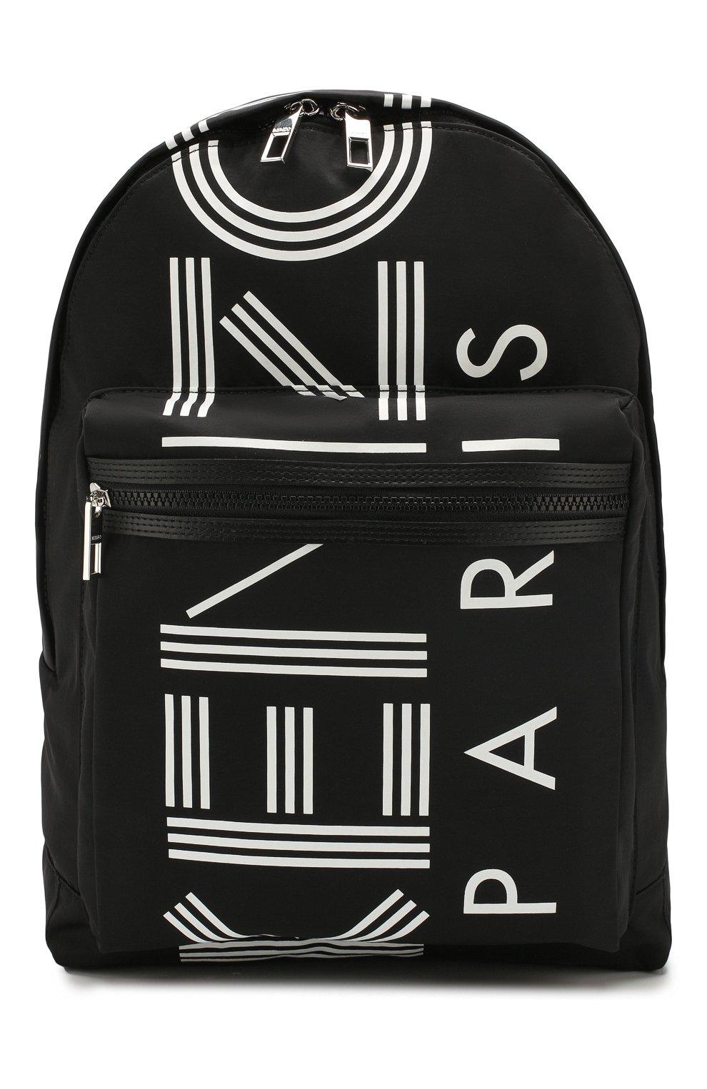 Женский рюкзак KENZO черного цвета, арт. F855SF213F24 | Фото 1