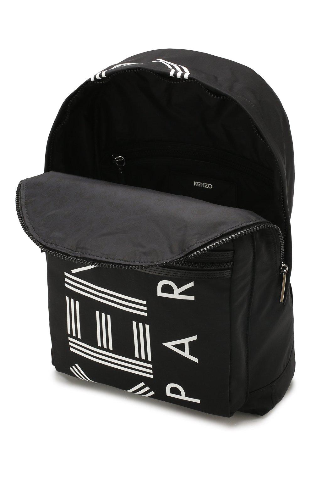 Женский рюкзак KENZO черного цвета, арт. F855SF213F24 | Фото 4
