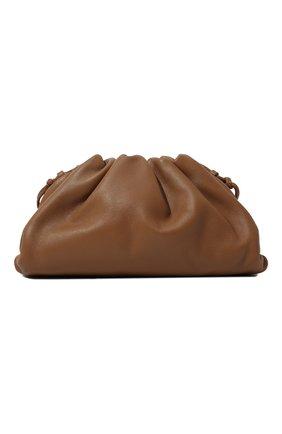 Женский клатч pouch mini BOTTEGA VENETA бежевого цвета, арт. 585852/VCP40   Фото 1