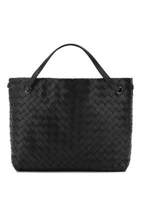 Женская сумка-тоут BOTTEGA VENETA черного цвета, арт. 600510/VCPP1 | Фото 1
