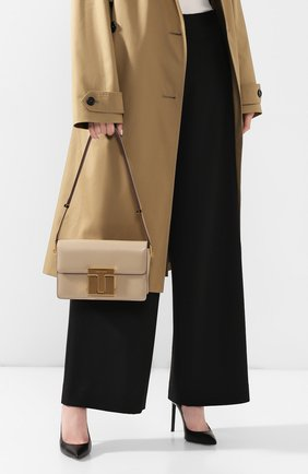 Женская сумка TOM FORD бежевого цвета, арт. L1262T-LG0009   Фото 2