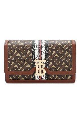 Женская сумка carrie BURBERRY коричневого цвета, арт. 8022356 | Фото 1