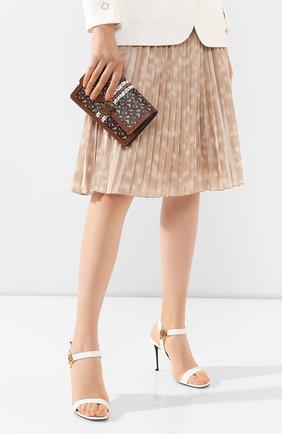 Женская сумка carrie BURBERRY коричневого цвета, арт. 8022356 | Фото 2