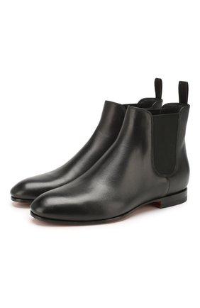 Женские кожаные челси SANTONI черного цвета, арт. WTSM57515BI3CLGAN01 | Фото 1