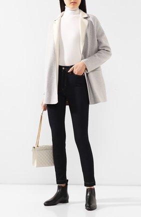 Женские кожаные челси SANTONI черного цвета, арт. WTSM57515BI3CLGAN01 | Фото 2