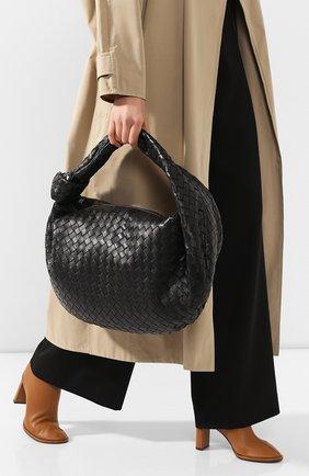 Женская сумка bv jodie large BOTTEGA VENETA черного цвета, арт. 600263/VCPP0 | Фото 2