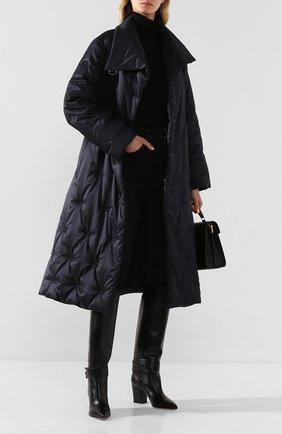 Женские кожаные сапоги SERGIO ROSSI черного цвета, арт. A89090-MNAN07 | Фото 2