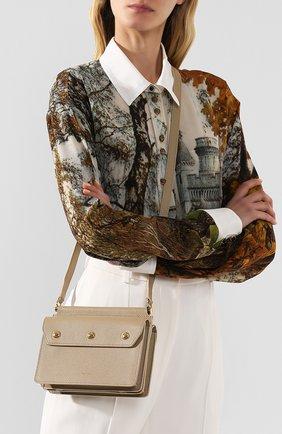 Женская сумка title baby BURBERRY бежевого цвета, арт. 8014580   Фото 2