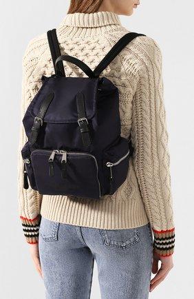 Женский рюкзак rucksack medium BURBERRY синего цвета, арт. 8021263 | Фото 2