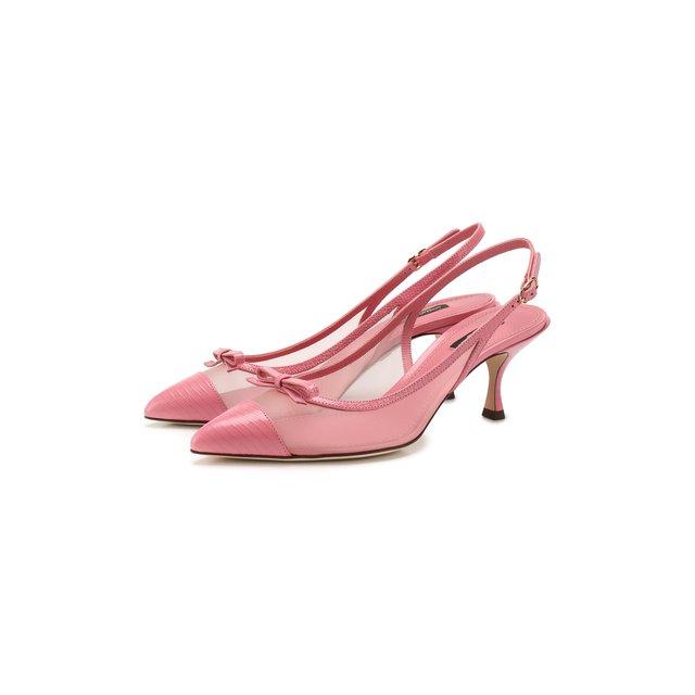 Комбинированные туфли Lori Dolce & Gabbana