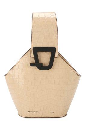 Женская сумка johnny mini DANSE LENTE коричневого цвета, арт. MINI J0HNNY/TAN | Фото 1