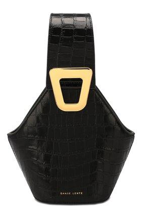 Женская сумка johnny extra small DANSE LENTE черного цвета, арт. XS J0HNNY/JET BLACK | Фото 1