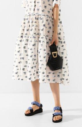Женская сумка johnny extra small DANSE LENTE черного цвета, арт. XS J0HNNY/JET BLACK | Фото 2