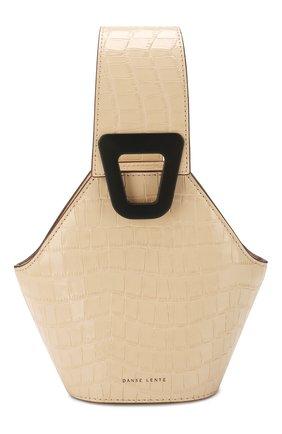 Женская сумка johnny extra small DANSE LENTE коричневого цвета, арт. XS J0HNNY/TAN | Фото 1