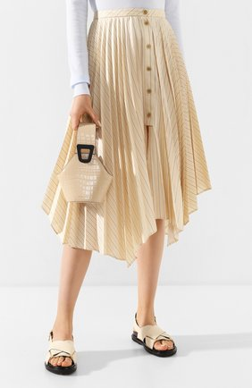 Женская сумка johnny extra small DANSE LENTE коричневого цвета, арт. XS J0HNNY/TAN | Фото 2