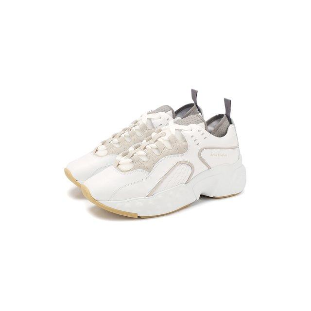 Кожаные кроссовки Manhattan Acne Studios — Кожаные кроссовки Manhattan