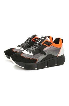 Женские комбинированные кроссовки VIC MATIE черного цвета, арт. 1X8332D.U02C4AB371 | Фото 1
