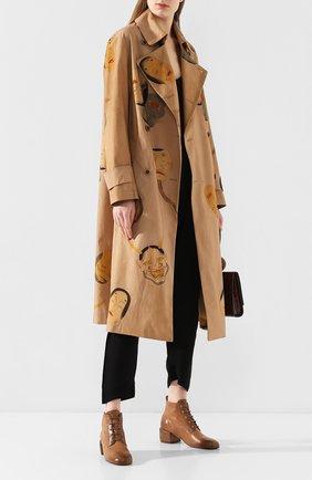 Женские кожаные ботильоны MARSELL светло-коричневого цвета, арт. MW5947/PELLE VITELL0 | Фото 2