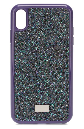 Мужской чехол для iphone xs max SWAROVSKI фиолетового цвета, арт. 5478875 | Фото 1