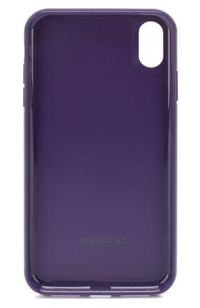 Мужской чехол для iphone xs max SWAROVSKI фиолетового цвета, арт. 5478875 | Фото 2