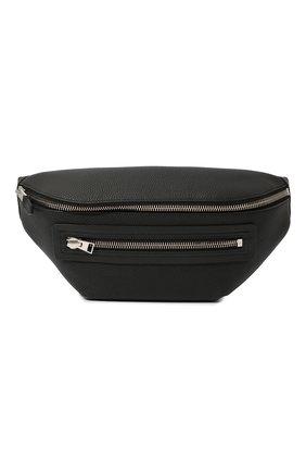 Мужская кожаная поясная сумка TOM FORD черного цвета, арт. H0396P-LCL037 | Фото 1