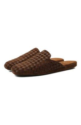 Мужского домашние туфли HOMERS AT HOME светло-коричневого цвета, арт. 16097/ANTE | Фото 1
