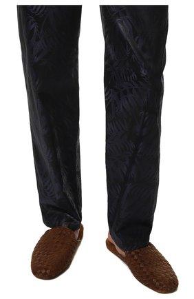 Мужского домашние туфли HOMERS AT HOME светло-коричневого цвета, арт. 16097/ANTE | Фото 3 (Материал внутренний: Натуральная кожа; Мужское Кросс-КТ: тапочки-обувь)
