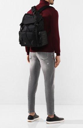 Мужской текстильный рюкзак ZEGNA COUTURE черного цвета, арт. C1566X-LHB0L | Фото 2