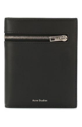 Мужской кожаное портмоне ACNE STUDIOS черного цвета, арт. CG0069/M | Фото 1