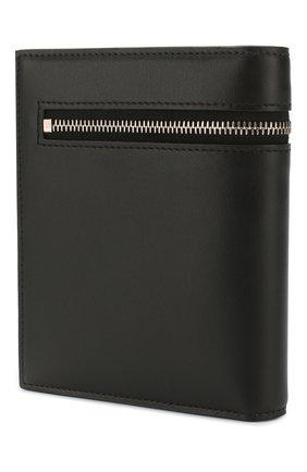Мужской кожаное портмоне ACNE STUDIOS черного цвета, арт. CG0069/M | Фото 2