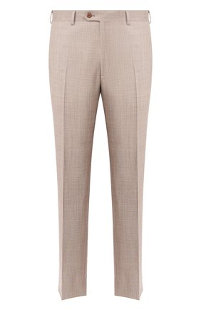 Мужской шерстяные брюки BRIONI бежевого цвета, арт. RPL60P/P9AA4/TIGULLI0 | Фото 1
