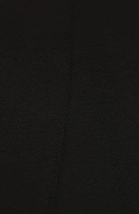 Мужская хлопковая футболка RICK OWENS черного цвета, арт. RU20S7256/UC   Фото 5