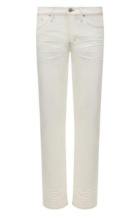 Мужские джинсы TOM FORD белого цвета, арт. BUJ32/TFD002 | Фото 1