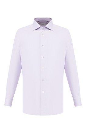 Мужская хлопковая сорочка BRIONI сиреневого цвета, арт. RCLU0U/P907L | Фото 1